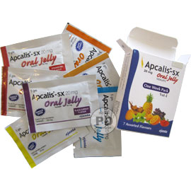 Apcalis oral jelly 20mg, 10 st